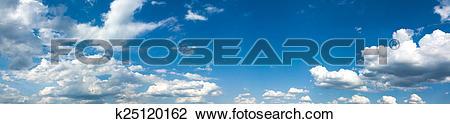 Stock Photo of wide sky k25120162.