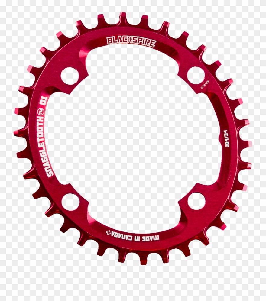 Snaggletooth O1 Oval 104bcd Chainrings.