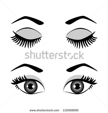 Open Eyes Stock Images, Royalty.