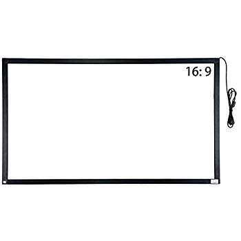 GreenTouch Infrared Touch Overlay 10 Points IR Touch Frame with USB  Interface Free.