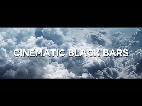 WIDESCREEN OVERLAY FREE DOWNLOAD (Cinematic Black Bars Overlay).