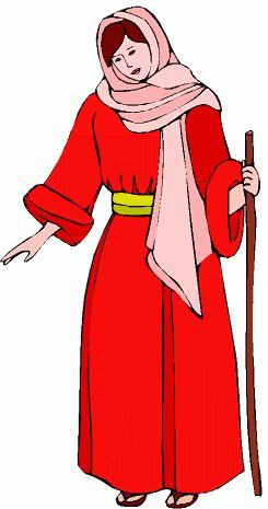 Bible Woman Clipart.