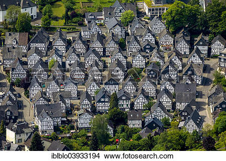 """Stock Photo of """"Aerial view, half."""