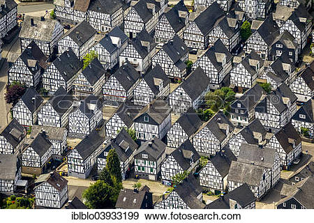 """Stock Photograph of """"Aerial view, half."""