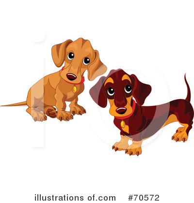 Wiener Dog Clipart #70572.