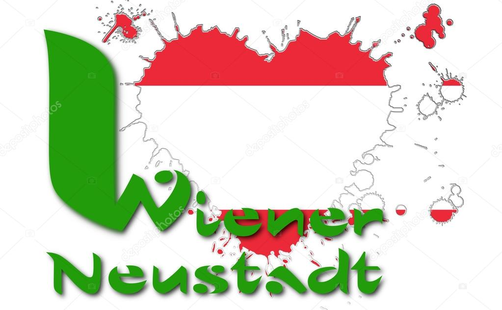 I love Wiener Neustadt — Stock Photo © albasu #81217666.