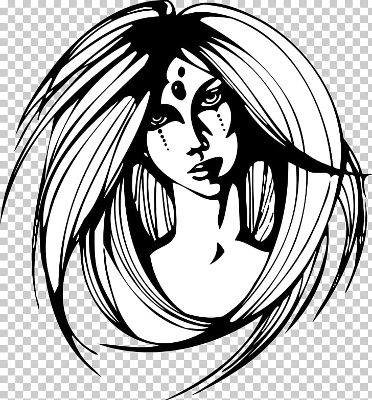 Drawing Poster, weird witch PNG clipart.