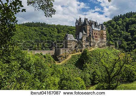 Picture of Eltz Castle, Wierschem, Rhineland.