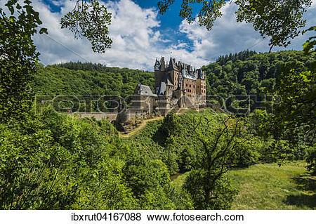 Pictures of Eltz Castle, Wierschem, Rhineland.