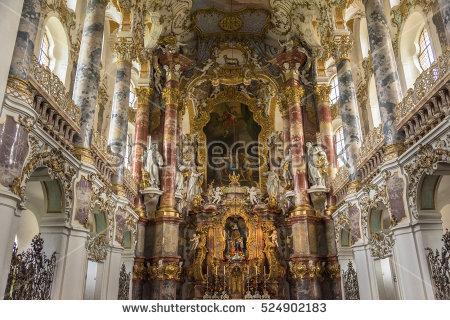 """""""rococo Churches"""" Stock Photos, Royalty."""
