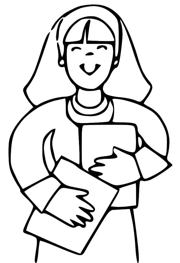 LDS Mother Clip Art free image.