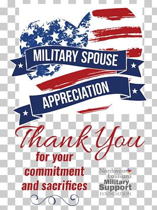 3 military Spouse Appreciation Day PNG cliparts for free.