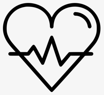 Free Heart Beat Clip Art with No Background.