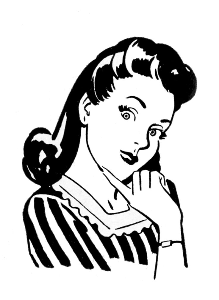 Wife Clipart.