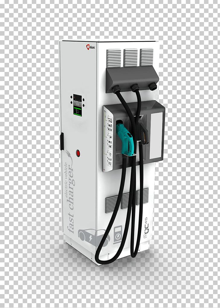 Electric Vehicle AC Adapter Car Charging Station CHAdeMO PNG.