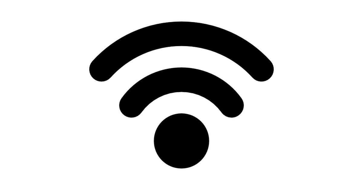 Wifi symbol.