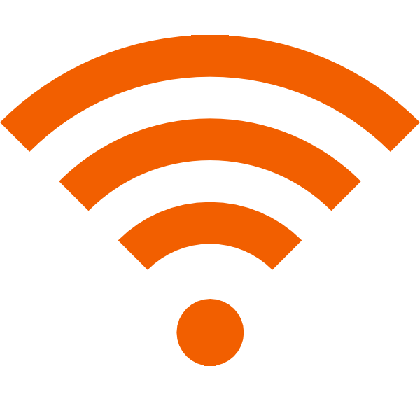 Download Wifi Icon Yellow PNG Image for Free.