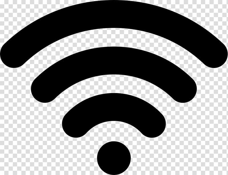 Black and white wifi , Wi.