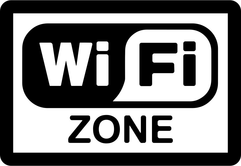 Wifi Zone Rectangular Signal Svg Png Icon Free Download (#29392.