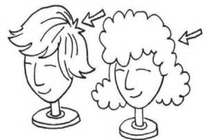Wig black and white clipart 1 » Clipart Station.