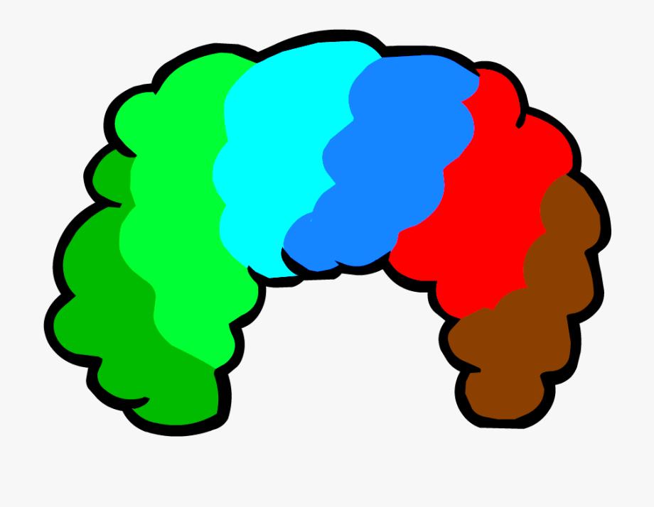 Clown Wig Clipart , Transparent Cartoon, Free Cliparts.