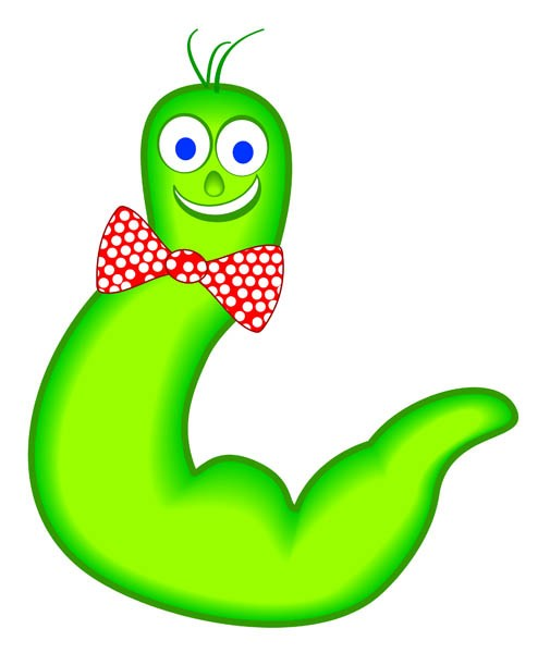 Wiggle worm clipart 1 » Clipart Portal.