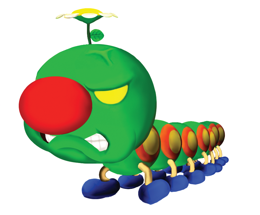 Wiggler (Super Mario Sunshine).