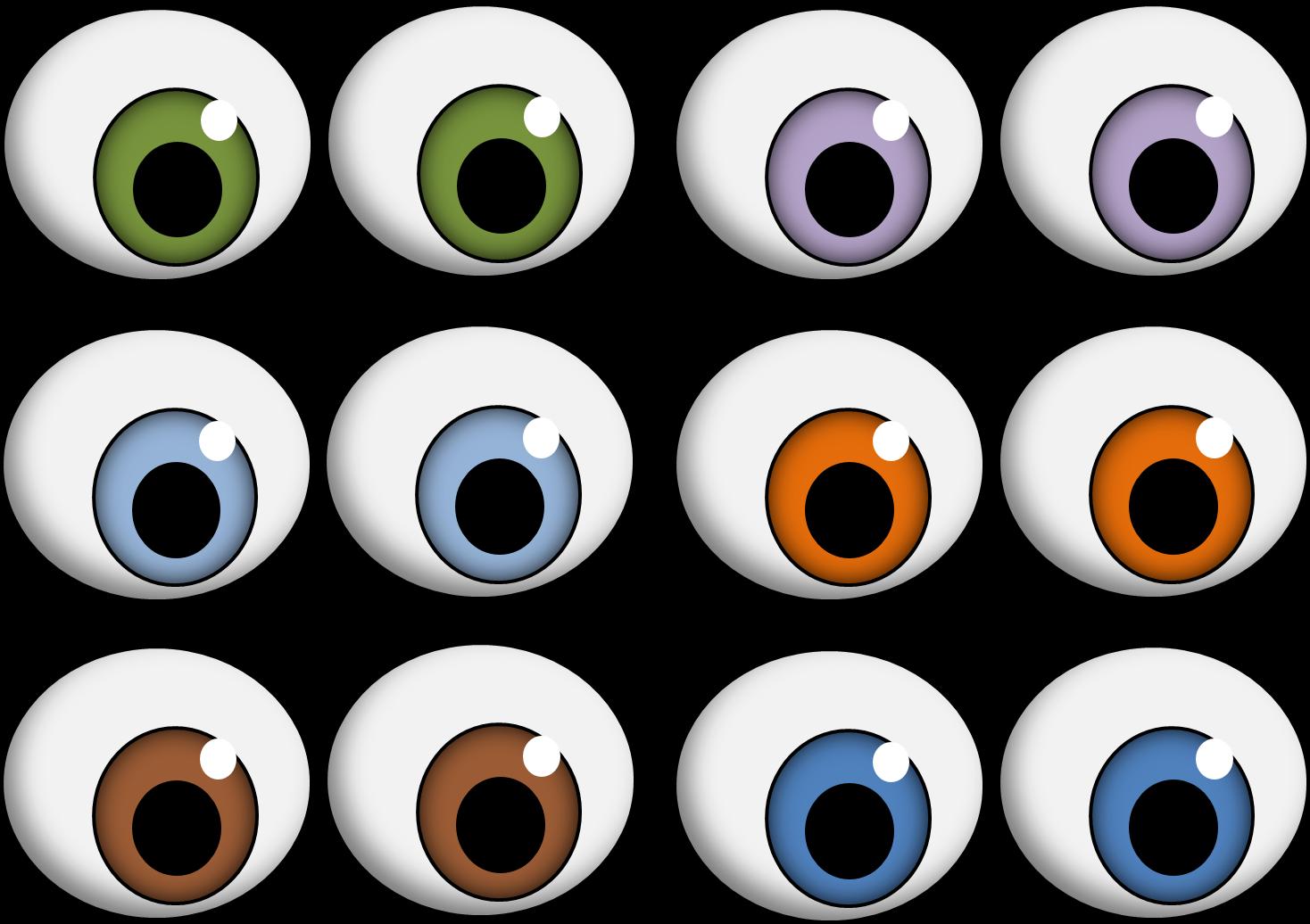 Big Googly Eyes Clip Art.