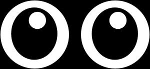 Googly Eyes Clipart.