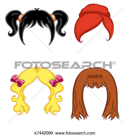 Wig Clipart and Stock Illustrations. 2,676 wig vector EPS.