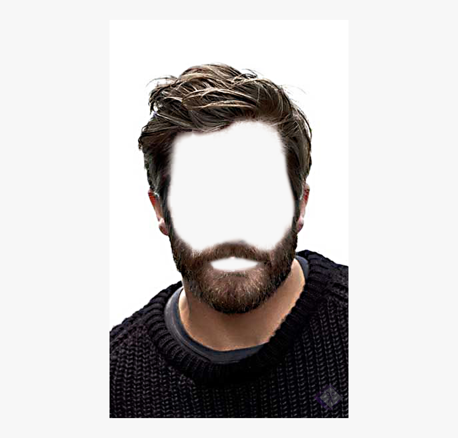 Men Hair Wig Png.