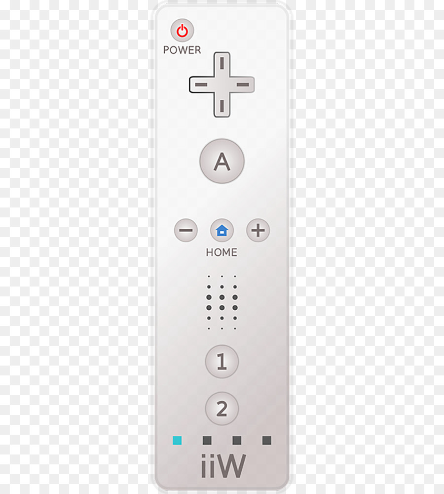 Wii Remote Remote Control png download.