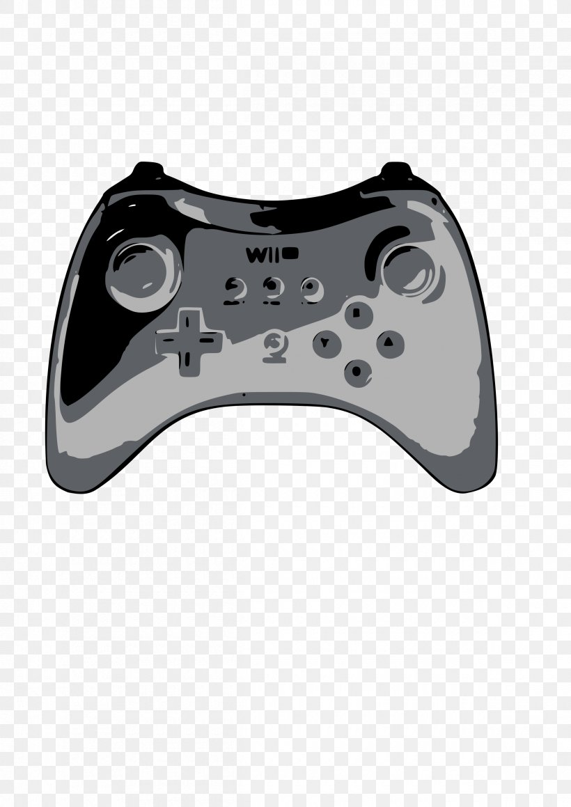 Wii Remote Xbox 360 Controller Game Controllers Clip Art.