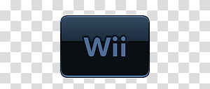 Wii Logo transparent background PNG cliparts free download.