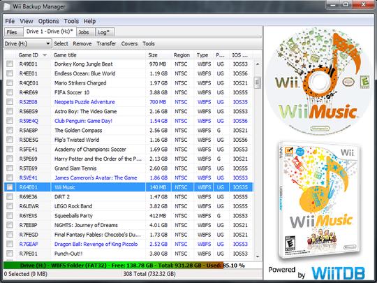 Wii Downloads.