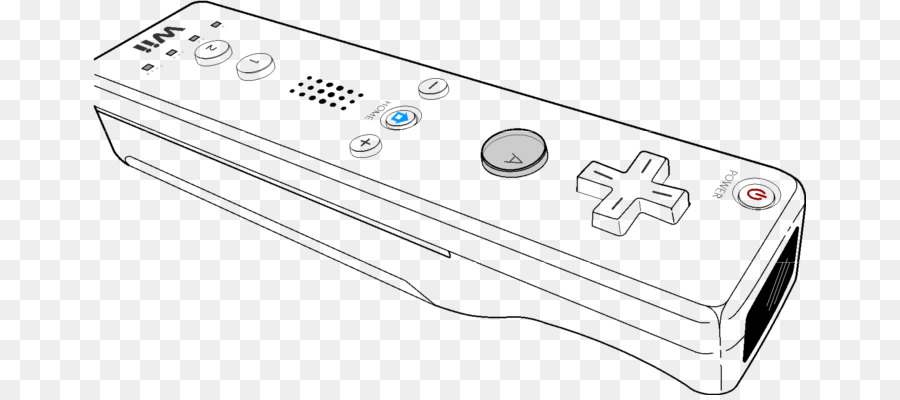 Wii Remote Wii U Wii MotionPlus Clip art.