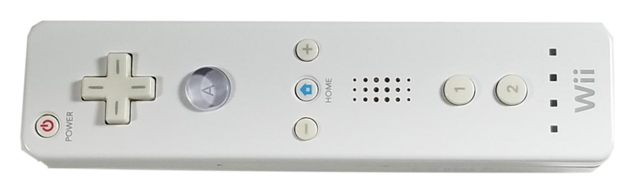 Nintendo Wii Remote Wireless Controller.