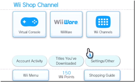 Nintendo Wii Shop Channel Removes Wii Shop Point Purchase.