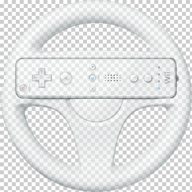 Mario Kart Wii Wii Remote Wii U Video game, steering wheel.