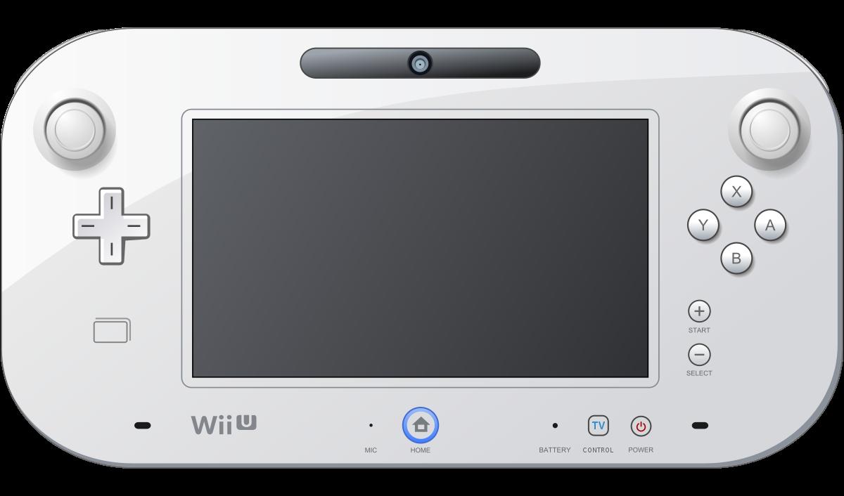 Wii U GamePad.