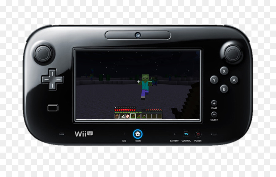 Wii U Video Game Console png download.