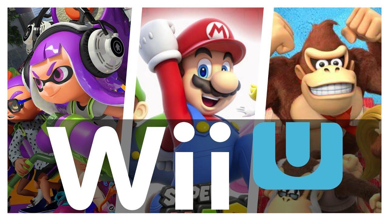All Nintendo Wii U Games In One Video [Retail + eShop].