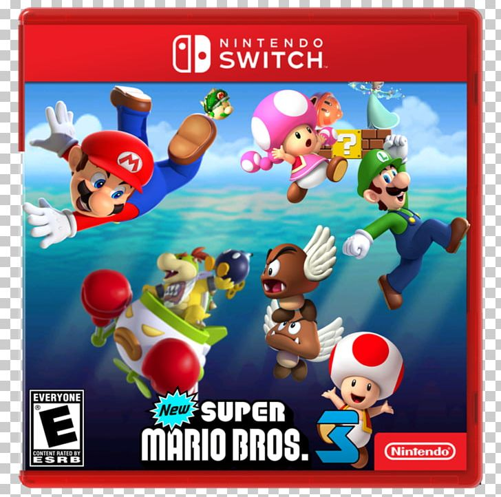 New Super Mario Bros Super Mario Bros. 3 Wii U PNG, Clipart.