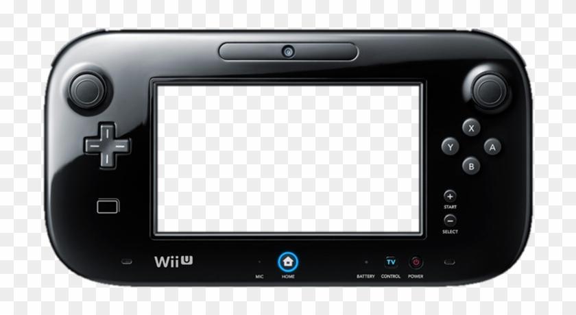 Nintendo Wii U Gamepad Png.