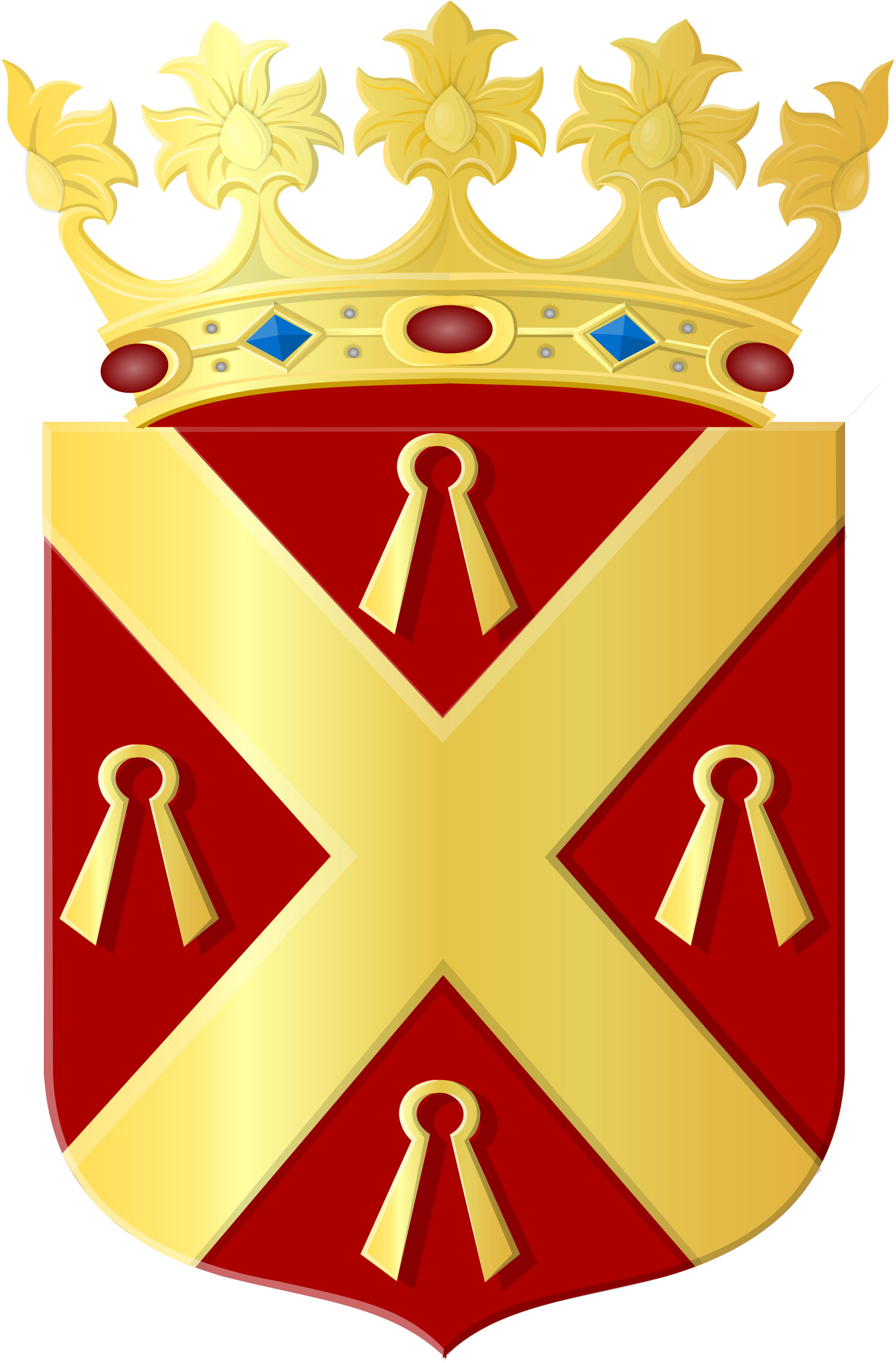 File:Coat of arms of Wijchen.svg.
