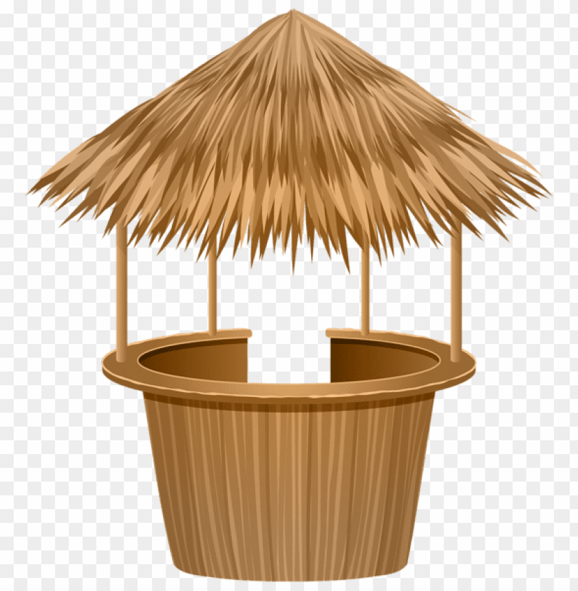 Download thatched tiki bar clipart png photo.