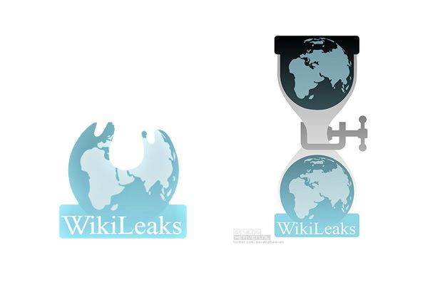 Some thoughts on the Wikileaks logo design.