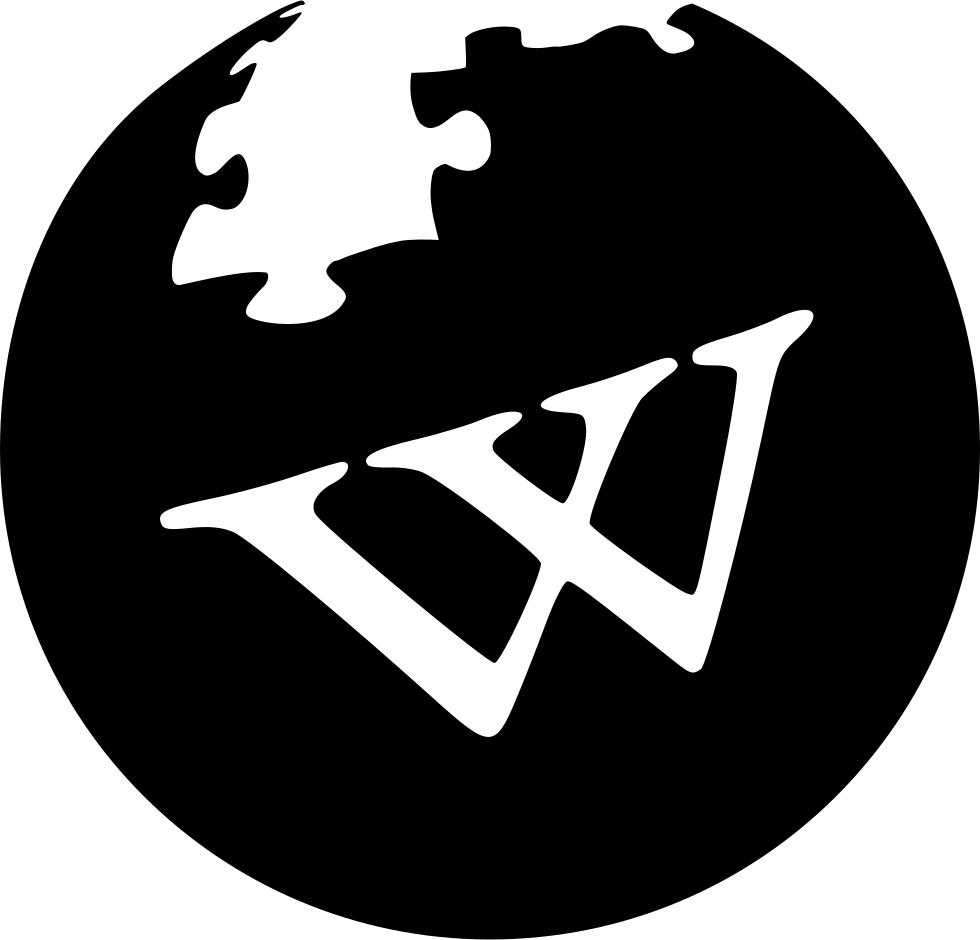 Wikipedia Svg Png Icon Free Download (#437103).