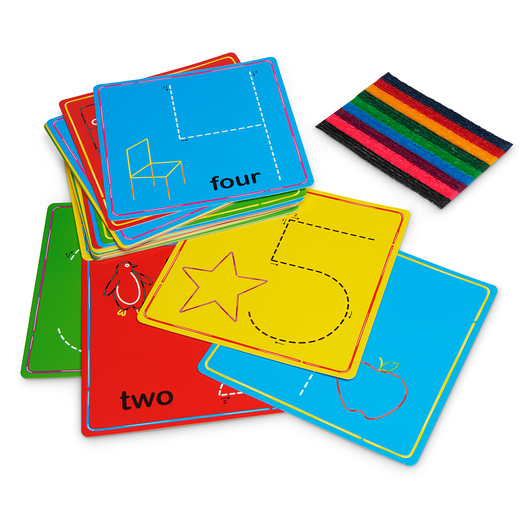 Wikki Stix® Basic Learning Set.