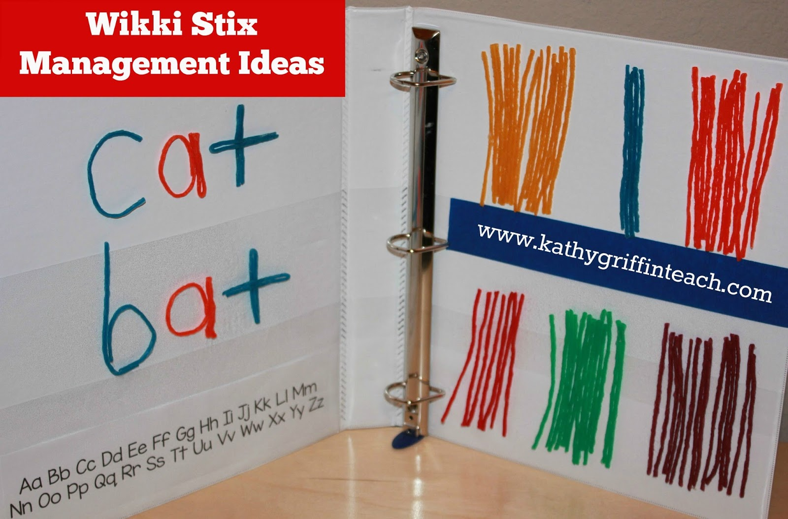 Wikki Stix Activities.